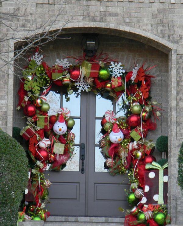 Home Door Decor  for Christmas (4)