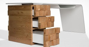 Katedra office desk by Desnahemisfera 1