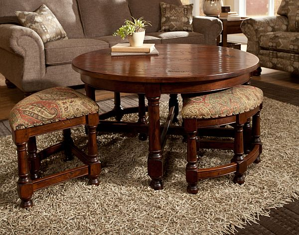 Nesting Stools and Tables