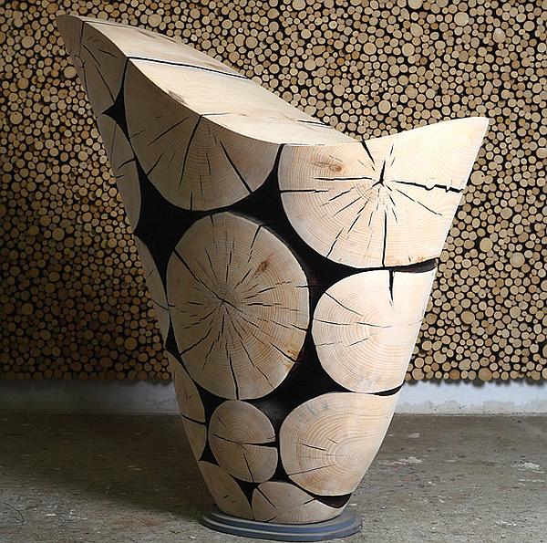 Pine Sculptures by Jae Hyo Lee 1