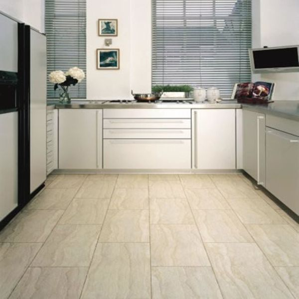 Tiles kitchen flooring