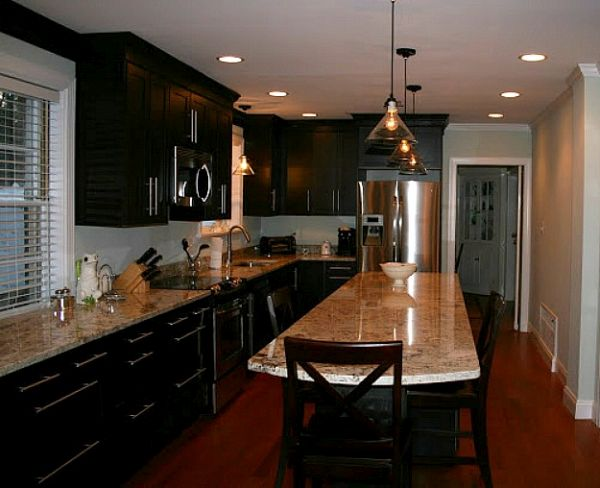 kitchen with black cabinets (2)