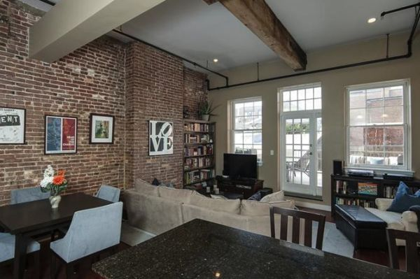 Add brick as a focal point