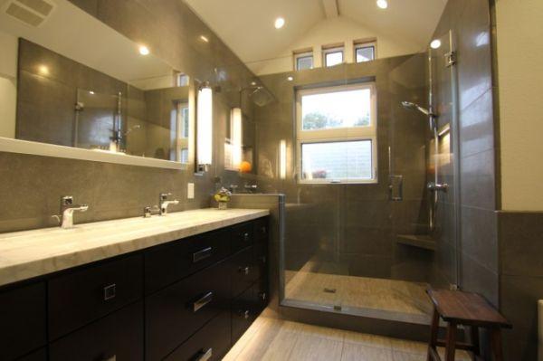 Bathing shower lighting