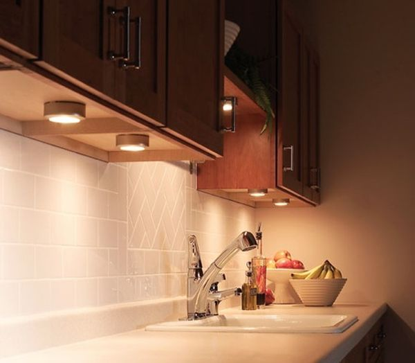 Kitchen Cabinet Lighting Options: Quick Ideas For Installing LED Lights Underneath Kitchen