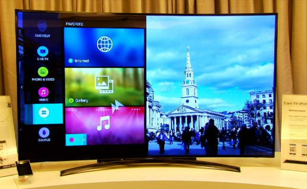 Tizen OS based amazingly smart Television
