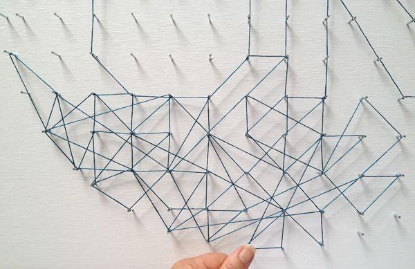 cobweb yarn art