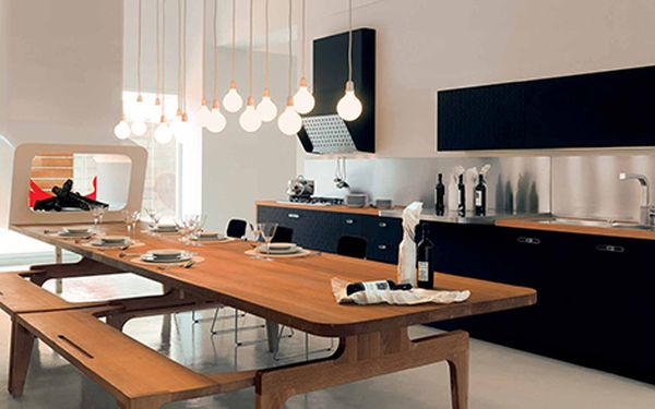 modern italian kitchen by schiffini