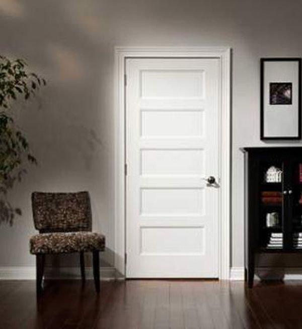 Paneled interior doors