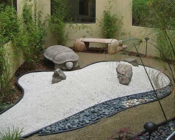 Charmant Water Features Like Ponds, Streams And Tiny Waterfalls Too Make A Modern Japanese  Garden Extremely Inviting And Irresistible. Water Is A Symbol Of Positive  ...