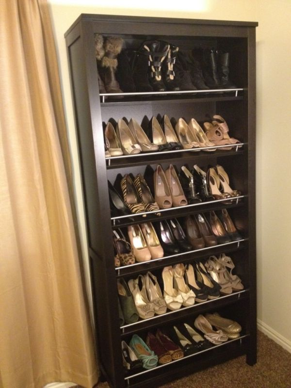 A Bookshelf Shoe Rack