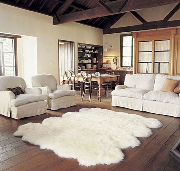 A Stylish Sheepskin Rug