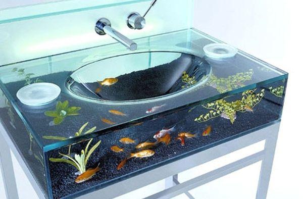 Aquarium Wash Basin
