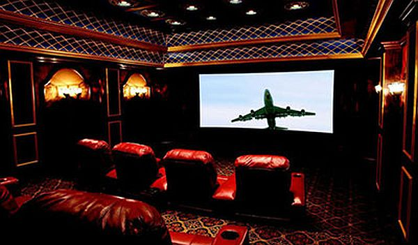 CineCurve Video Projection Screen