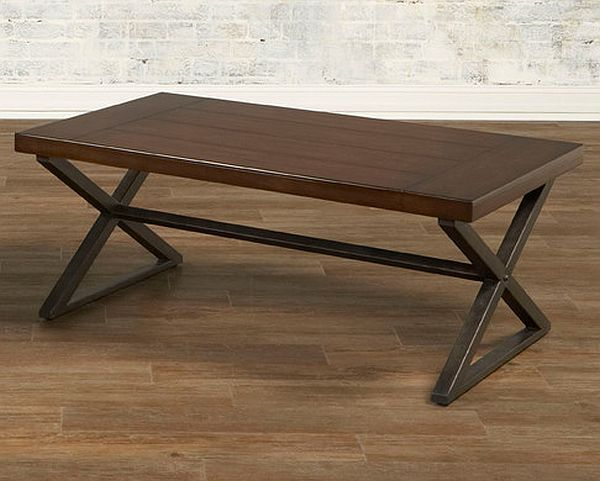 Crossing coffee table