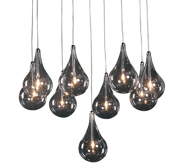 Multi- glass Pendant Lights