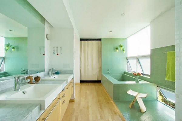 Pastels for the Bathroom