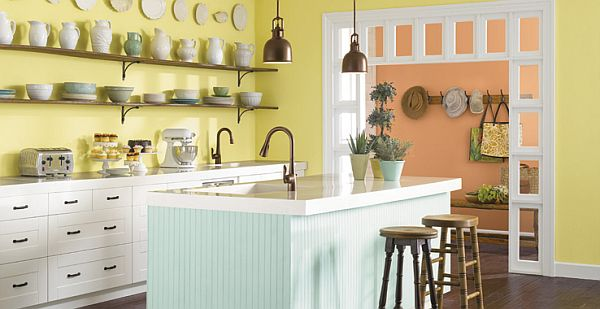 Pastels in Kitchen
