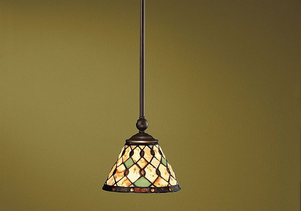 Single Glass Pendant Lights