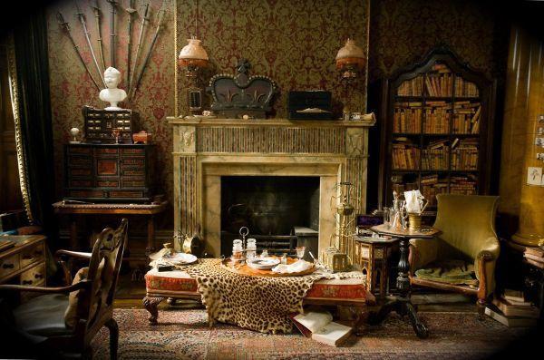 Victorian style Gothic interiors (1)