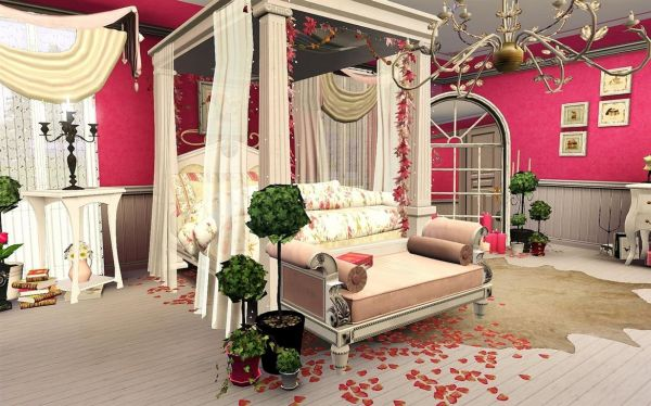 bedroom for Valentine's Day (3)