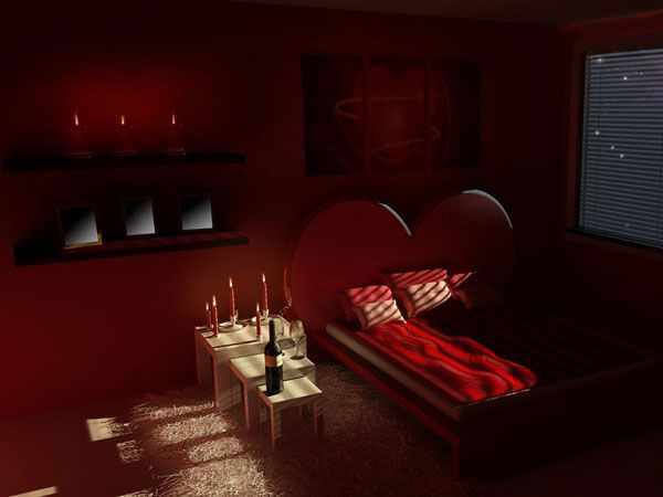 bedroom for Valentine's Day (6)