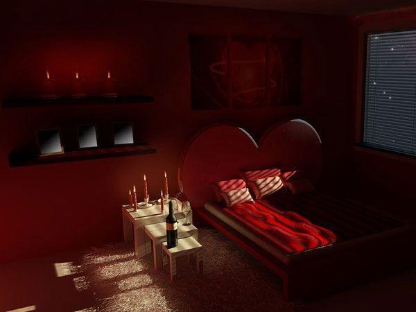 bedroom for Valentine's Day (6)