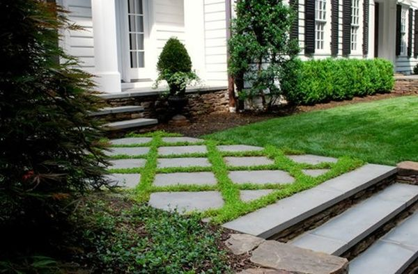 flagstone pathway for your lawn (1)