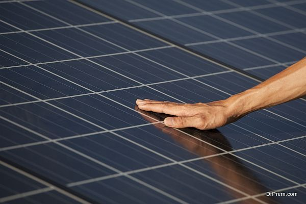 installation of solar products