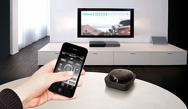 smart phones as home remote