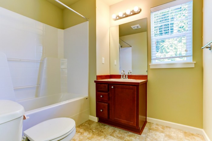 How to install a bathroom vanity hometone home for Home automation shower