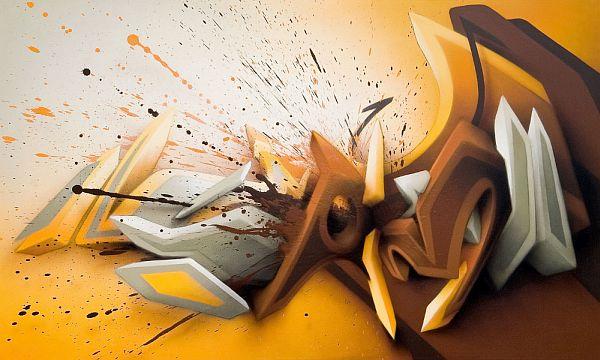 3D paintings.