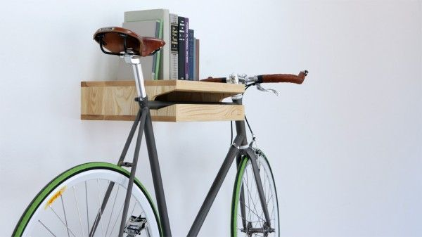 Build a bike shelf