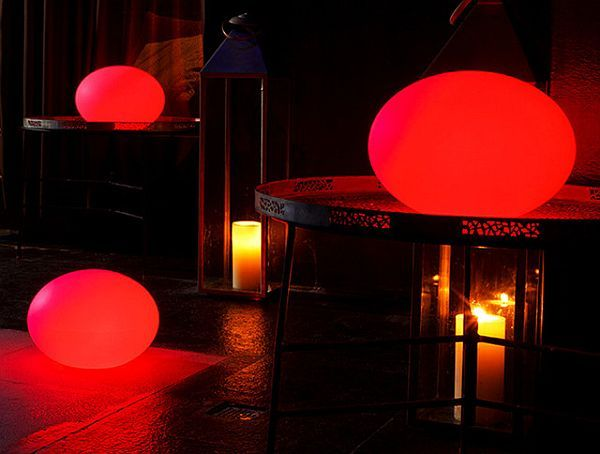 Flatball Outdoor Lanterns