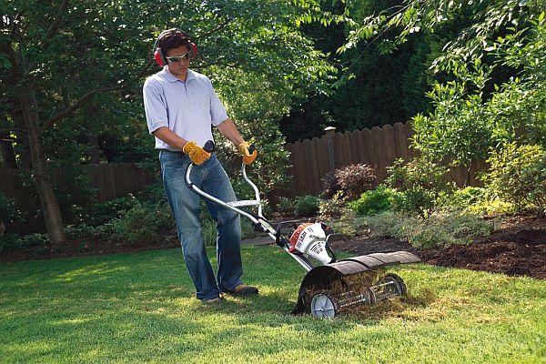 Remove dead grass