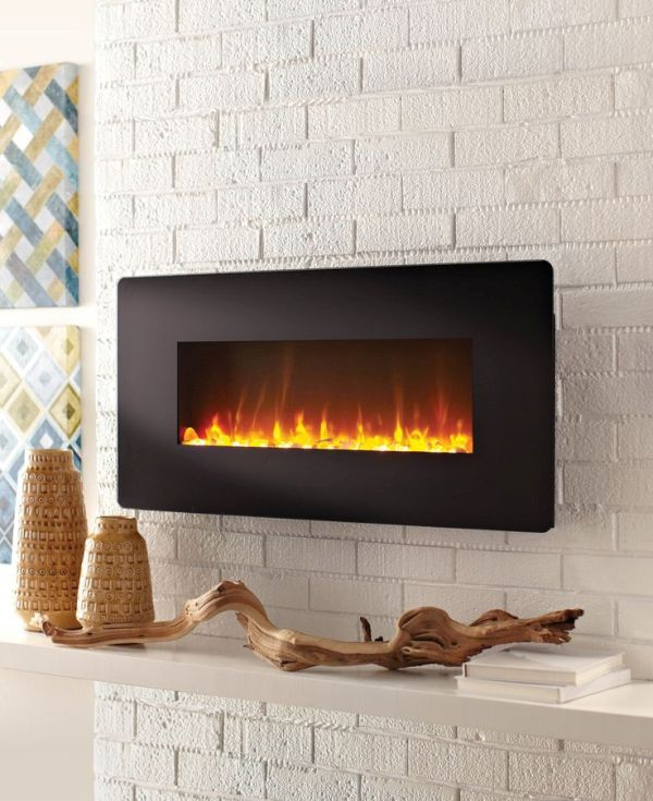 Touchscreen fireplaces