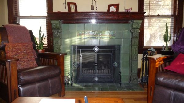 Vintage fireplaces