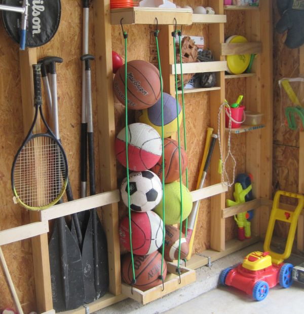 bungee cord storage
