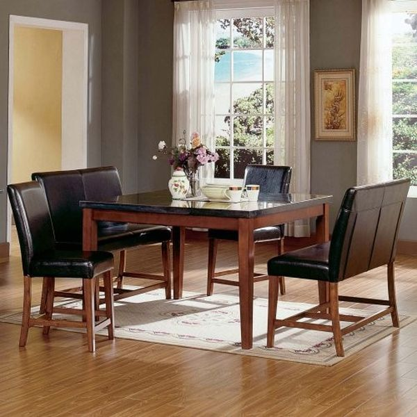 Nice design of granite top kitchen table best home design ideas checkout these lovely granite top dining room tables watchthetrailerfo