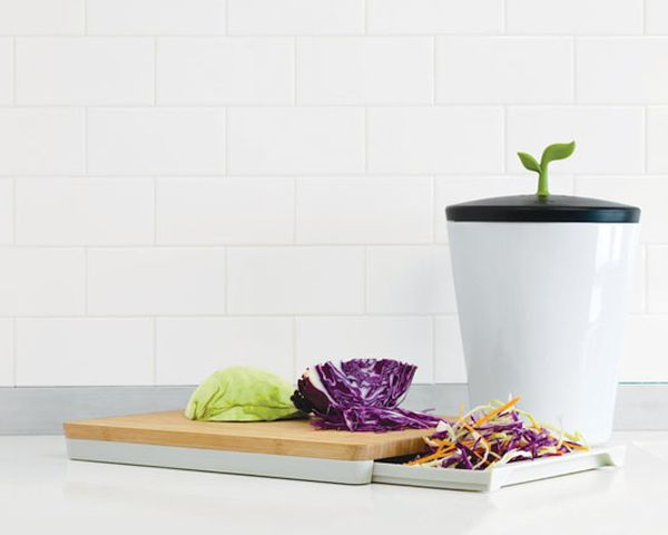 Chef'n EcoCrock Counter Compost Bin  1