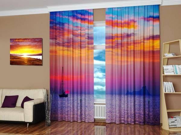 Digitally printed curtains  1