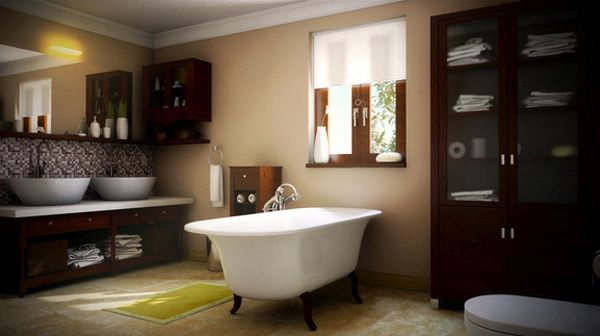 classy bathroom with a classic touch (6)