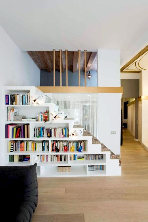Bookshelf Staircases
