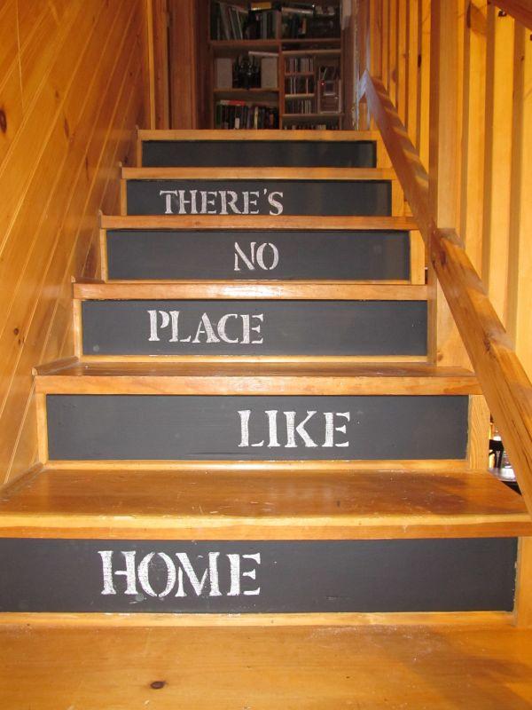 Chalkboard Staircase