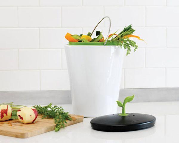 Eco counter compost bin