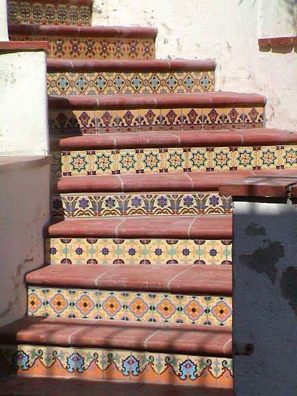 Hand Painted Staircase
