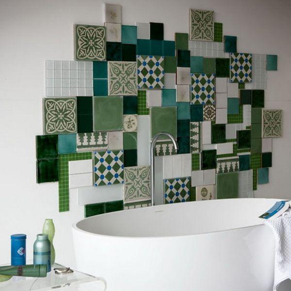Modern art tiles