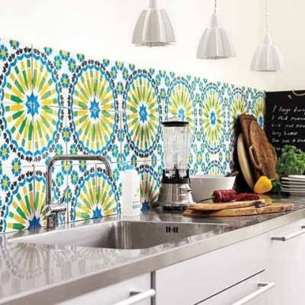 Wallpaper Kitchen Backsplash