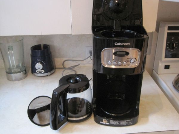 dirty coffeemaker