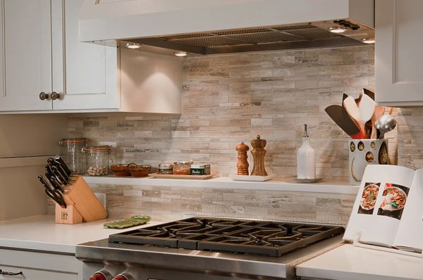 simple kitchen backsplash